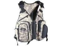 Vesta Dragon Street Fishing Vest Tech with Replacement Bags