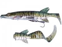 Swimbait Savage Gear 3D Hybrid Pike 17cm 45g 07 Green Silver Pike