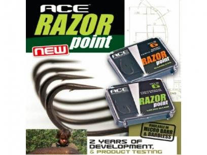 Carlige Ace Razor Medium Curve Shank