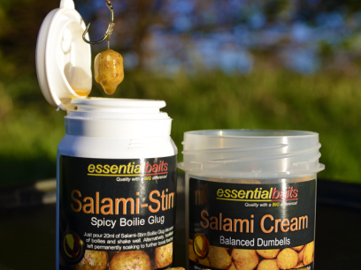 Essential Baits Salami Cream Balanced Dumbells