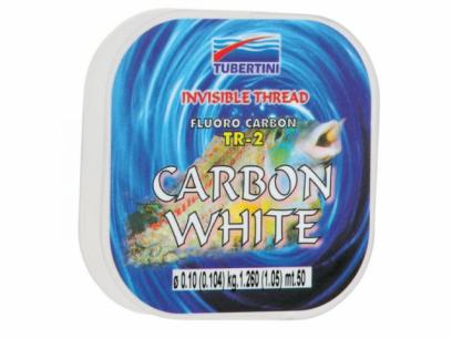 Fir fluorocarbon Carbon White 50m