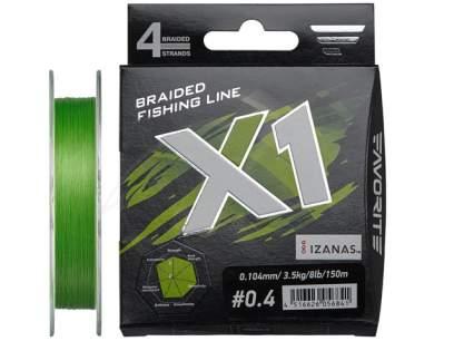 Fir textil Favorite X1 4X 150m Green