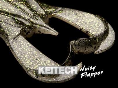 Keitech Noisy Flapper Green Pumpkin Frog 465