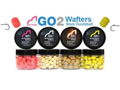 Pelete Spotted Fin GO2 Hi-Viz Fluoro Wafter Fruit Zing 8mm