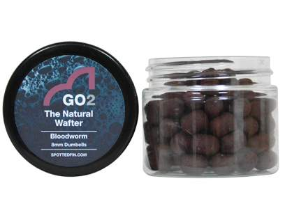 Pelete Spotted Fin GO2 The Natural Wafters Bloodworm 8mm