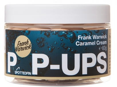 Pop-up Spotted Fin Frank Warwick Caramel Cream