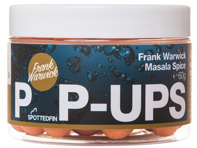 Pop-up Spotted Fin Frank Warwick Masala Spice