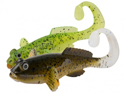 Shad Fox Rage Grondle Twist 10cm Lemon Tiger