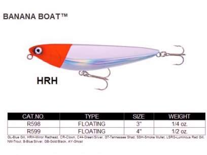 Vobler Yo-Zuri Banana Boat 10cm 14g HRH F