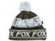 Caciula Fox Green and Silver Lined Bobble