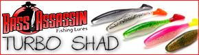 Bass Assassin Turbo Shad