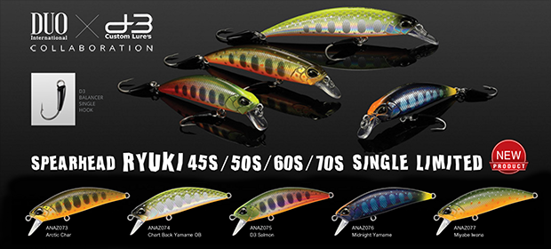 DUO Ryuki D3 Single Hook Limited