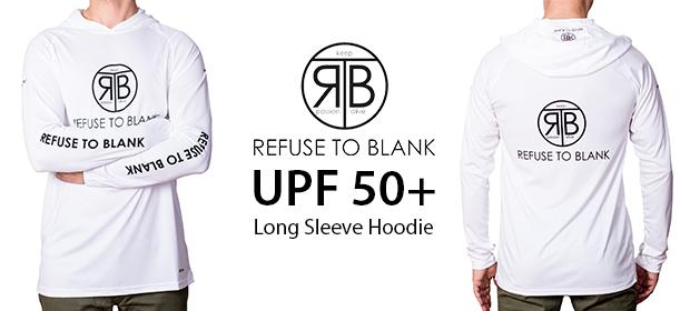 RTB UPF50 long sleeve hoodie