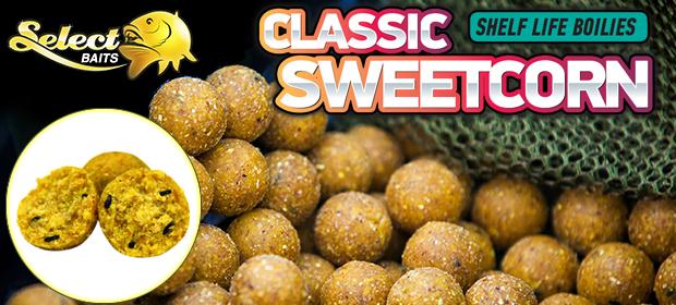 Select Baits Classic Sweetcorn boilies