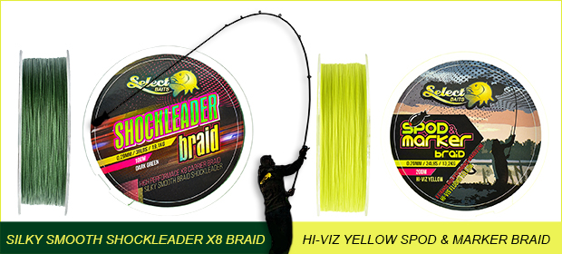 Select Baits X8 braids