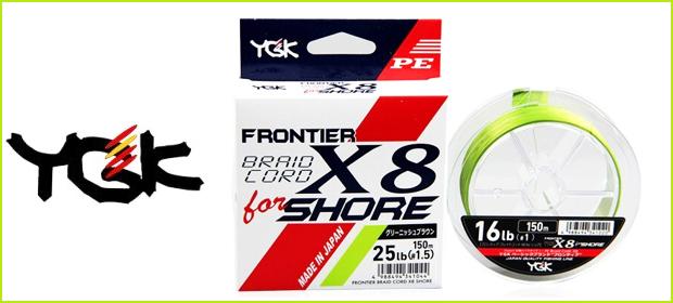YGK X8 Shore braid
